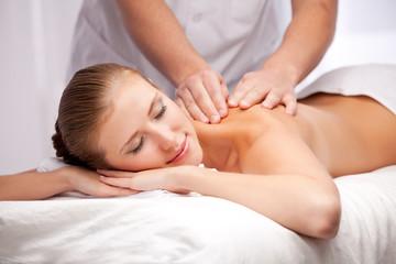 Fototapeta na wymiar Massage