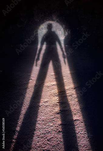 Fotografia  Shadow of a gunman