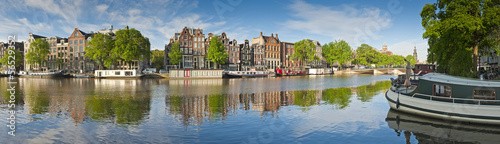 Deurstickers Amsterdam Amsterdam reflections, Holland