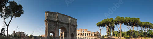 Fotografie, Obraz  Arch of Constantine, Coliseum, Rome