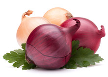 Onion Vegetable Bulb And Parsl...