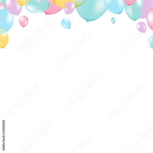 Balon pastelowy