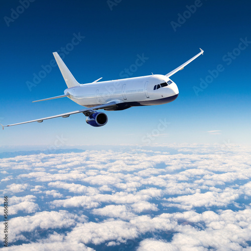 Valokuva Airplane in the sky - Passenger Airliner / aircraft