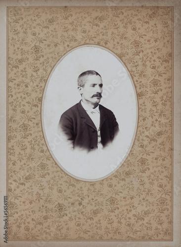 Photographie  Portrait of nineteenth century