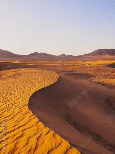 Tuinposter Algerije Zagora Desert, Morocco