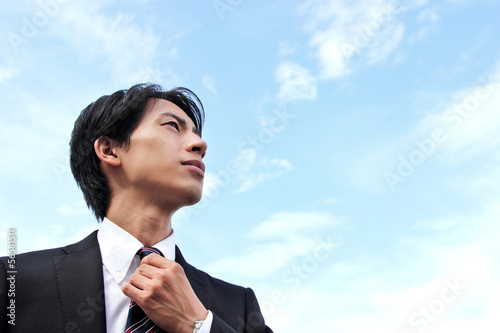 Fotografie, Obraz  新人ビジネスマン