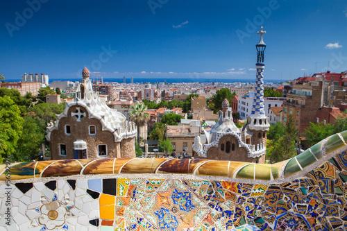 Papiers peints Barcelona Park Güell 8