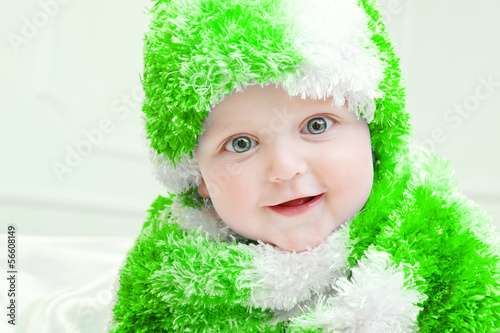 467bddfdf41d Cute baby at winter background - Buy this stock photo and explore ...