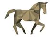 Kubistisches Pferd