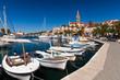 canvas print picture - Hafen von Milna, Kroatien