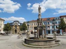 Meiningen (Thüringen) - Marktplatz