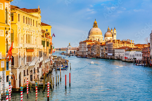 Photo  Grand Canal at sunset