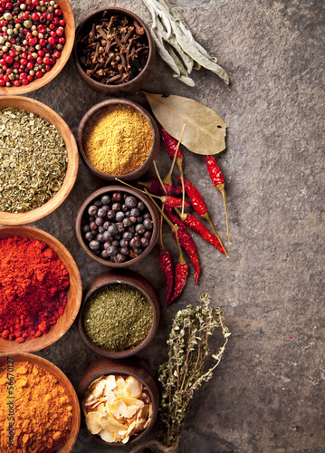 Staande foto Kruiden Spices