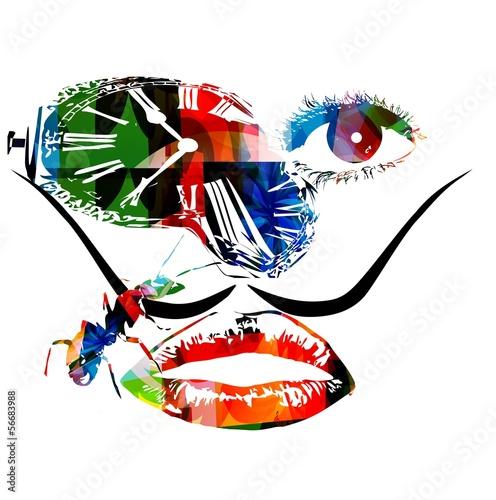 Photo Salvador Dali inspired artwork vector