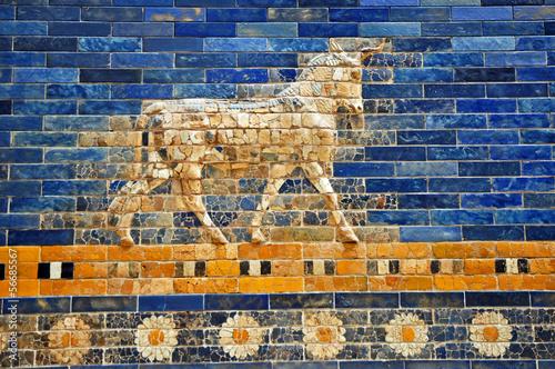 Leinwand Poster Berlino, Museo Pergamon - la porta di Babilonia