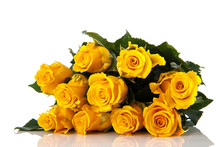 Bouquet Yellow Roses