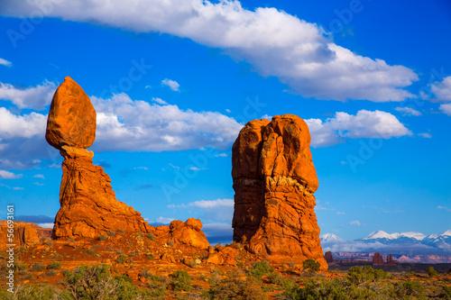 Poster Parc Naturel Arches National Park Balanced Rock in Utah USA