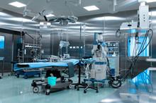 Operating Room In Cardiac Surg...