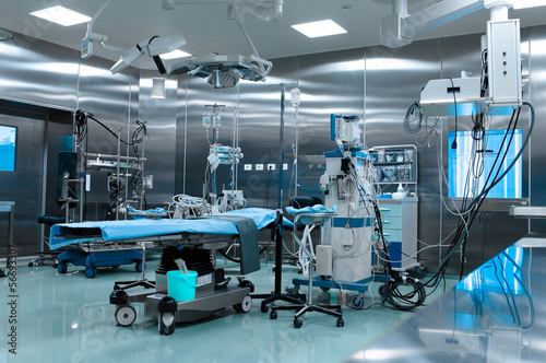 Fotografie, Obraz  Operating room in cardiac surgery
