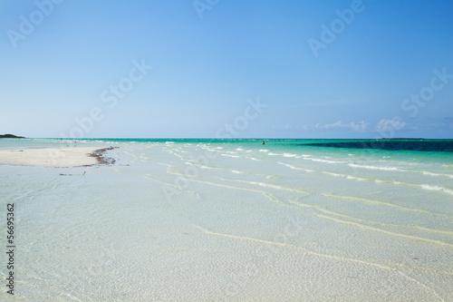 Blu paradise Canvas Print