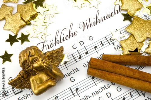 Valokuvatapetti Weihnachtsmusik
