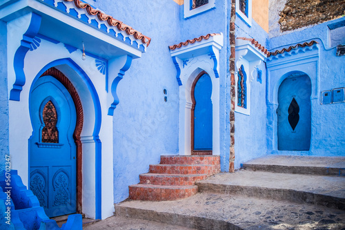 Printed kitchen splashbacks Morocco Chefchaouen, Morocco