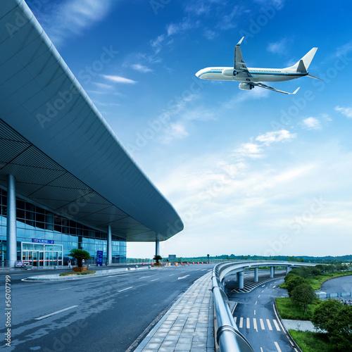 Staande foto Luchthaven Airport