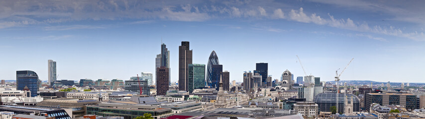 Financial District and Downtown, London, UK