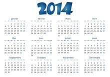 Calendrier 2014 Simple - Facil...