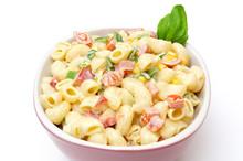 Macaroni Salad Isolated