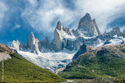 Góra Fitz Roy, Patagonia, Argentyna