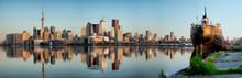 Toronto City Skyline Panorama