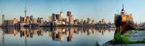 Toronto City Skyline Panorama Wallpaper Mural