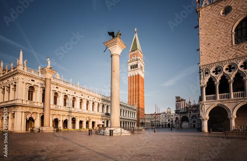 Foto op Plexiglas Venetie Piazza San Marco in the morning. Venice. Italy.
