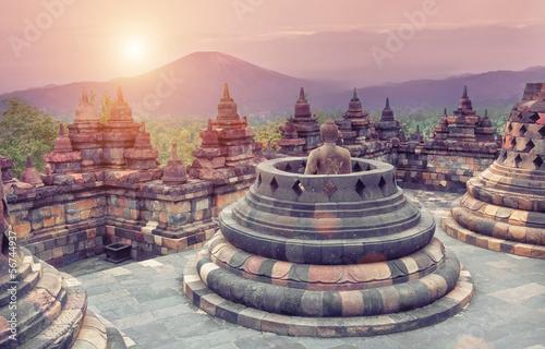 Aluminium Prints Indonesia Borobudur Temple