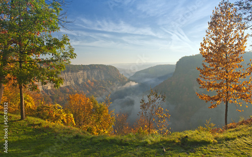 Great Bend Overlook At Letchworth State Park