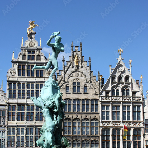 Tuinposter Antwerpen Anvers - Antwerpen - Antwerp