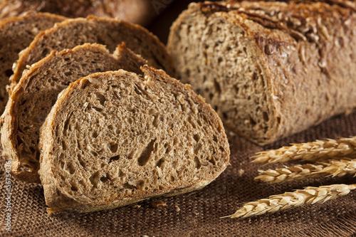 Fotografie, Obraz  Fresh Homemade Whole Wheat Bread