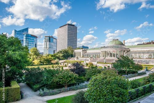 Staande foto Brussel Jardin botanique de Bruxelles
