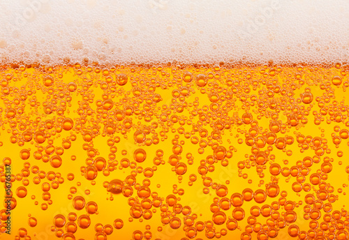 Beer texture, seamless Canvas Print