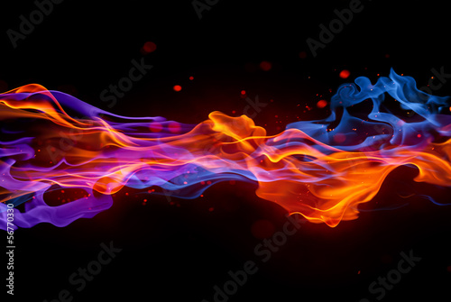 Fotobehang Vuur blaze fire flame texture background