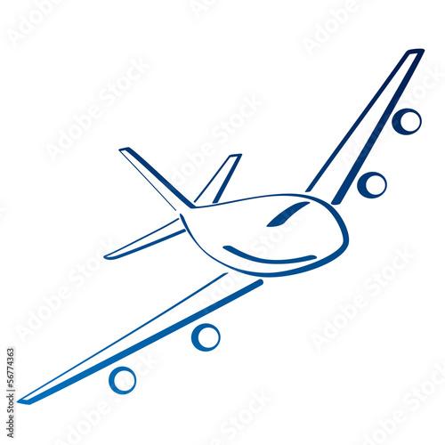 Fototapeta samolot obraz