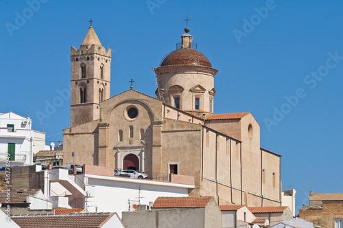Fotografie, Obraz  Panoramic view of Pisticci. Basilicata. Italy.