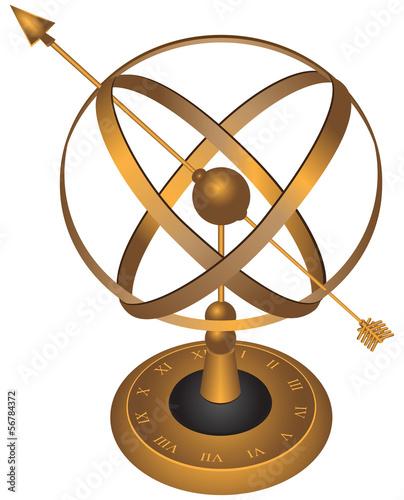 Astrolabe Wallpaper Mural