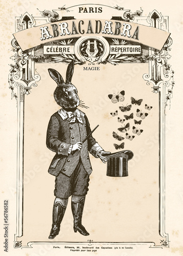Plakaty do biura le-lapin-magicien