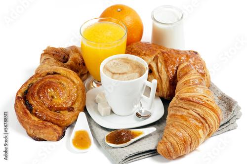 Fotografie, Obraz  Petit déjeuner