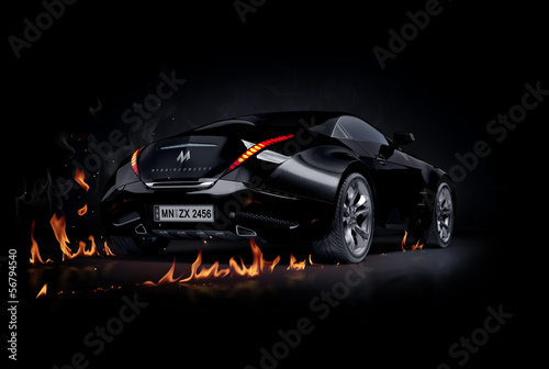 czarny-samochod-sportowy-non-branded-projekt-samochodu