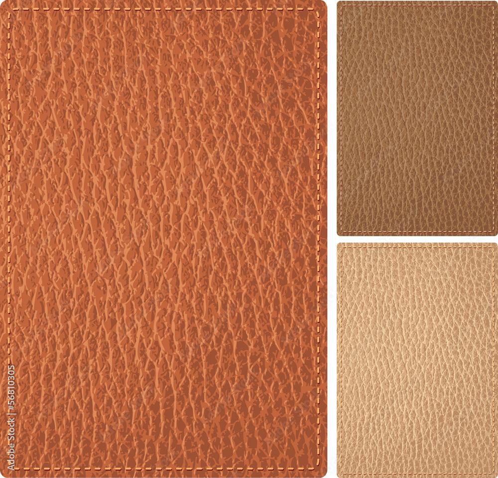 Fototapeta leather cover