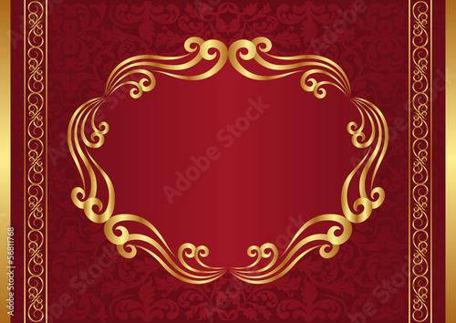 dark red background - 56811768