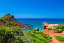 Mediterranean Sea View From Menorca Coast